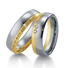 WEDDING RINGS BICOLOR 2