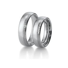 WHITE GOLD WEDDING RINGS PREMIUM 48/021300-48/021310