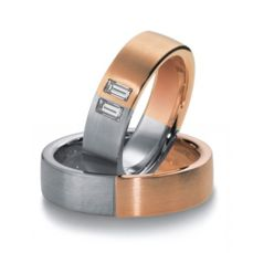 WEDDING RINGS BICOLOR 7