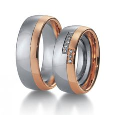 WEDDING RINGS BICOLOR 15