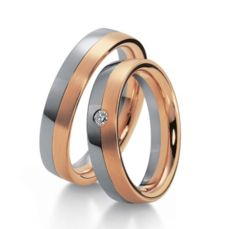 WEDDING RINGS BICOLOR 18