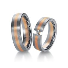 WEDDING RINGS BICOLOR 26