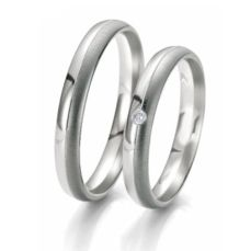 WEDDING RINGS BLACK & WHITE 48/06101- 48/06102