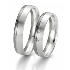 WEDDING RINGS BLACK & WHITE 48/06103- 48/06104