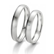 WEDDING RINGS BLACK & WHITE 48/06105- 48/06106