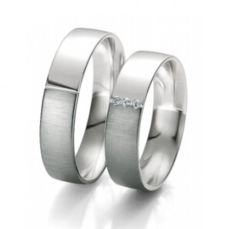 WEDDING RINGS BLACK & WHITE 48/06107- 48/06108