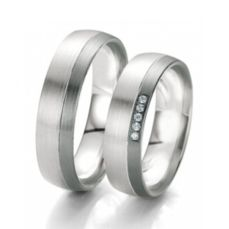 WEDDING RINGS BLACK & WHITE 48/06117- 48/06118