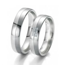 WEDDING RINGS BLACK & WHITE 48/06119- 48/06120