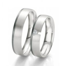 WEDDING RINGS BLACK & WHITE 48/06129- 48/06130