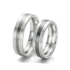 WEDDING RINGS BLACK & WHITE 48/06139- 48/06140