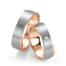 WEDDING RINGS BICOLOR DESIGN 48/052630-48/052640