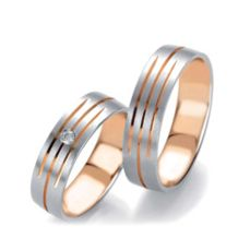 WEDDING RINGS BICOLOR 83