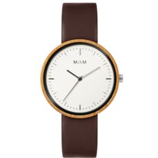 MAM ORIGINALS WATCH FOR MEN PLANO BAMBOO 650