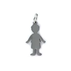 STEEL PENDANT BOY 9100540