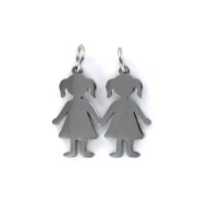 STEEL PENDANT GIRLS 9100543