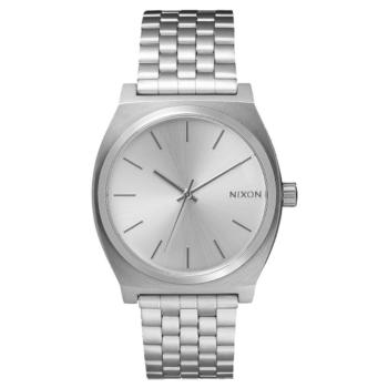 sentry gray gator en leather watches accessories by nixon chrono