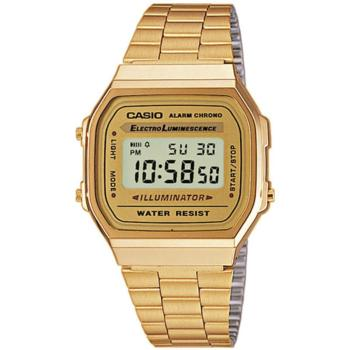 unisex watch retro gold casio
