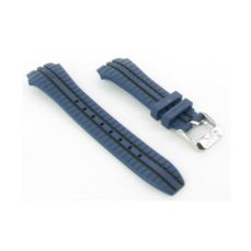 LOTUS 18261 WATCH BAND RUBBER BLUE AND BLACK BC9211AZ