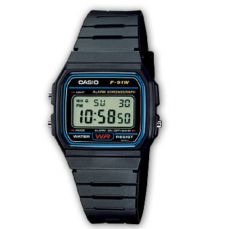 RELOJ CASIO HOMBRE COLLECTION F-91W-1YER
