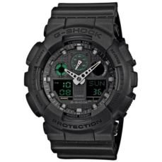 CASIO WATCH FOR MEN G-SHOCK GA-100MB-1AER