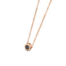 LECARRÉ PENDANT FOR WOMEN GD024OR.BL