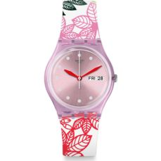 SWATCH WATCH FOR WOMEN ORIGINALS SUMMER LEAVES GP702