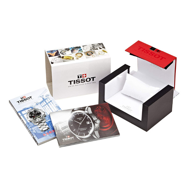 TISSOT WATCH FOR WOMEN COUTURIER POWERMATIC 80 T0352071106100