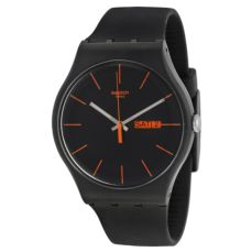RELLOTGE SWATCH ORIGINALS DARK REBEL SUOB704