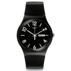 SWATCH WATCH ORIGINALS BACKUP BLACK SUOB715