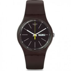 SWATCH WATCH ORIGINALS BLUE BROWNY SUOC704