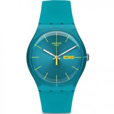 SWATCH WATCH ORIGINALS TURQUOISE REBEL SUOL700