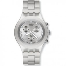 SWATCH WATCH FOR WOMEN IRONY FULL-BLOODED SILVER SVCK4038G