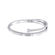 SWAROVSKI BANGLE FOR WOMEN FRESH 5257566 SIZE L