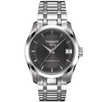 item tissot dial watches men black band tosset sa steel xl s stainless i watch en prs buy