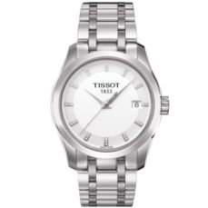 TISSOT WATCH FOR WOMEN COUTURIER T0352101101600