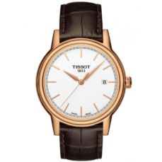 TISSOT WATCH FOR MEN CARSON QUARTZ T0854103601100