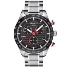 TISSOT WATCH FOR MEN PRS 516 QUARTZ CHRONOGRAPH T1004171105101
