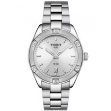 TISSOT WATCH FOR WOMEN PR 100 SPORT CHIC T1019101103100