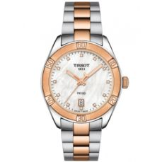 TISSOT WATCH FOR WOMEN PR 100 SPORT CHIC T1019102211600