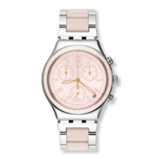 SWATCH WATCH FOR WOMEN IRONY DREAMNIGHT ROSE YCS588G