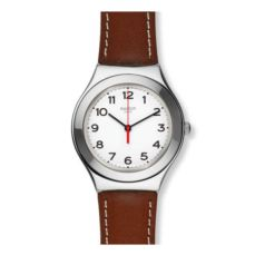 RELOJ SWATCH IRONY STRICTLY SILVER YGS131