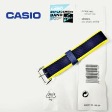 CASIO BABY-G WATCH BAND NYLON BLUE 09521156