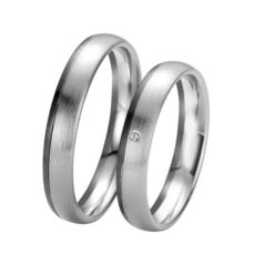 WEDDING RINGS BLACK & WHITE 48/061050-48/061051