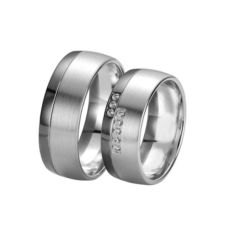 WEDDING RINGS BLACK & WHITE 48/061230-48/061231
