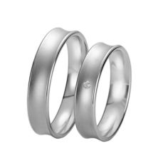 WEDDING RINGS BLACK & WHITE 9