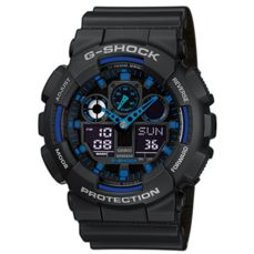 CASIO WATCH FOR MEN G-SHOCK GA-100-1A2ER
