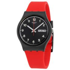 RELLOTGE SWATCH ORIGINALS RED GRIN GB754