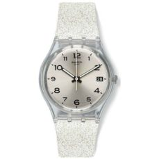 SWATCH WATCH FOR WOMEN GENT SILVERBLUSH GM416C