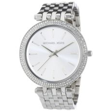 MICHAEL KORS WATCH FOR WOMEN DARCI PAVÉ SILVER MK3190