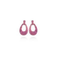LUXENTER EARRINGS FOR WOMEN PLATA ET077R0600